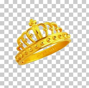 Gold Ring Imperial Crown PNG