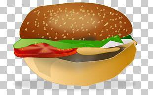 Hamburger Chicken Sandwich Cheeseburger Fast Food Slider PNG