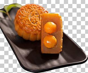 Mooncake Dim Sum Mid-Autumn Festival Lotus Seed Paste Food PNG