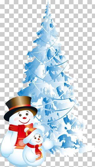 Santa Claus Christmas Cartoon Snowman PNG