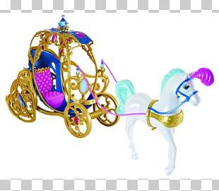 Cinderella Horse Disney Princess Carriage Toy PNG