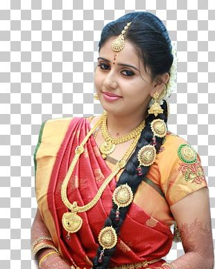 Jewellery Sari Model Bride Wedding Dress PNG