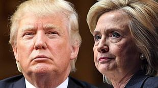 Donald Trump United States Hillary Clinton US Presidential Election 2016 PNG