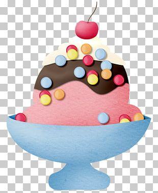 Ice Cream Cake Sundae Ice Cream Cones PNG