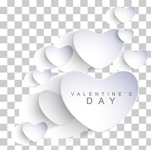 Heart Shape Love Valentines Day PNG