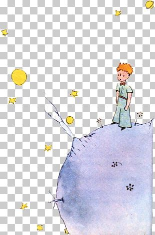 The Little Prince Love Poster Drawing PNG