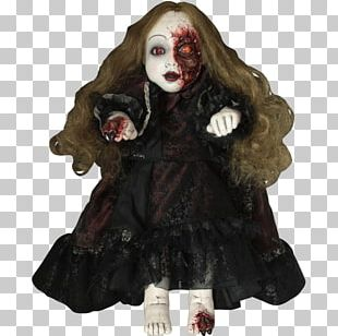 Halloween Doll Costume Party Mask PNG