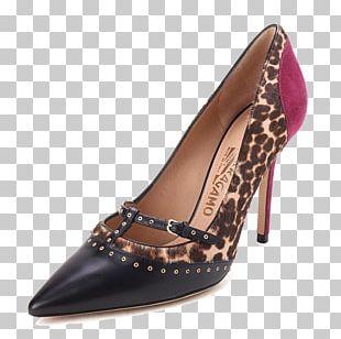 Shoe Salvatore Ferragamo S.p.A. Leather High-heeled Footwear PNG