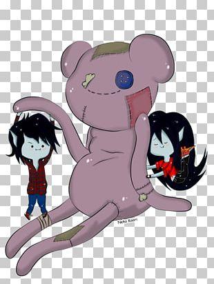 Carnivora Cartoon Pink M Character PNG
