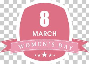 International Womens Day Woman Greeting Card Illustration PNG