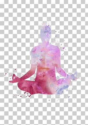 Hot Yoga Lotus Position Yoga Beginner Art PNG