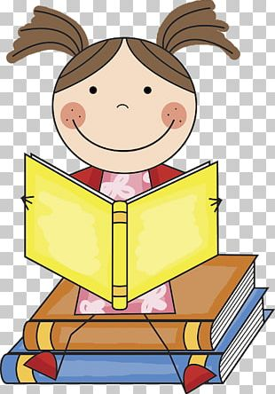 Reading Book Child First Grade PNG
