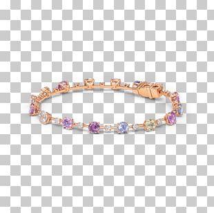 Bracelet Gemstone Diamond Pastel Gold PNG