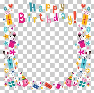 Birthday Greeting Card PNG