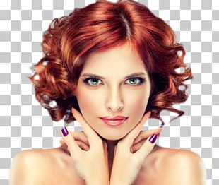 Beauty Parlour Hairstyle Hair Coloring Hair Care PNG