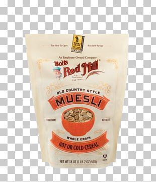 Muesli Breakfast Cereal Bob's Red Mill Whole Grain PNG