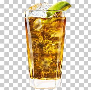 Rum And Coke Long Island Iced Tea Cocktail Garnish Dark 'N' Stormy PNG