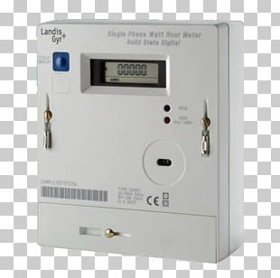Landis+Gyr Electricity Meter Smart Meter Kilowatt Hour PNG