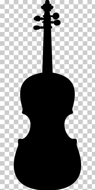 Electric Violin Musical Instruments Stencil Luthier PNG