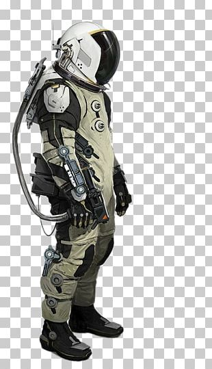 Space Suit Science Fiction Astronaut Mark III PNG