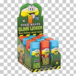 Toxic Waste Candy Salt Water Taffy PNG