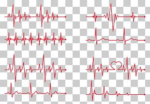 Heart Rate Electrocardiography PNG