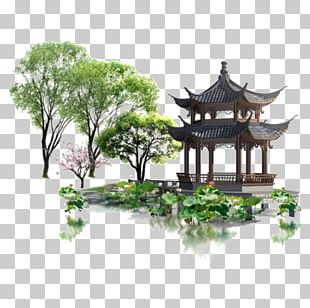 Chinese Garden PNG