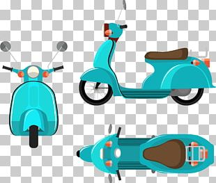 Scooter Motorcycle PNG
