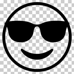 Emoji Sunglasses Smiley Emoticon PNG