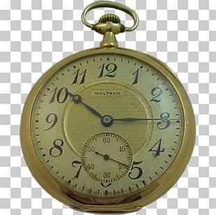 Waltham Watch Company Clock Pocket Watch PNG