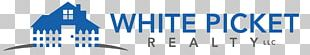 White Picket Realty LLC Real Estate Logo Brand PNG