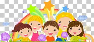 Cartoon Child Frame PNG