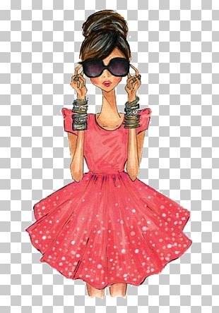 Fashion Illustration Drawing Illustration PNG