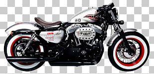 Harley-Davidson Sportster Custom Motorcycle PNG