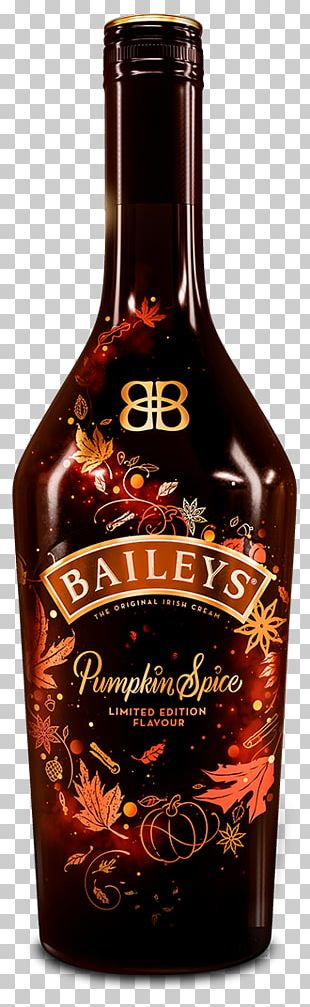Baileys Irish Cream Cream Liqueur Pumpkin Spice Latte Distilled Beverage PNG