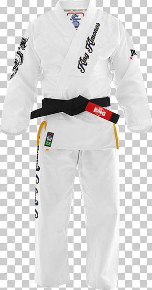 Dobok Brazilian Jiu-jitsu Gi Kimono Mockup PNG