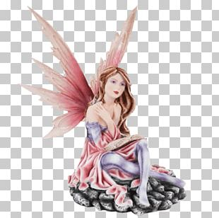 Fairy Riding Figurine Legend Magic PNG