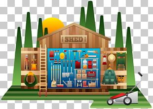 Shed Garden Tool PNG