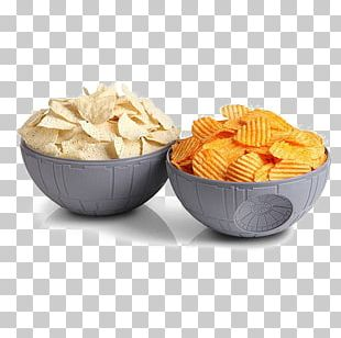 Chips And Dip Bowl Dipping Sauce Death Star Ceramic PNG