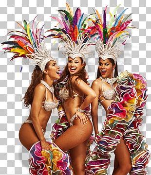 Brazilian Carnival Samba Dance PNG