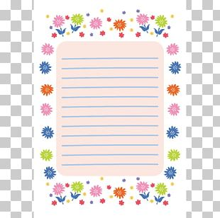 Paper 便箋 Letter Template New Year Card PNG