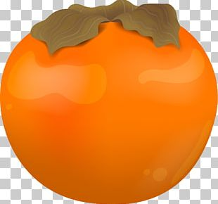 Persimmon Yellow Fruit PNG