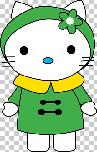 Coloring Book Hello Kitty Winter Clothing Coat PNG