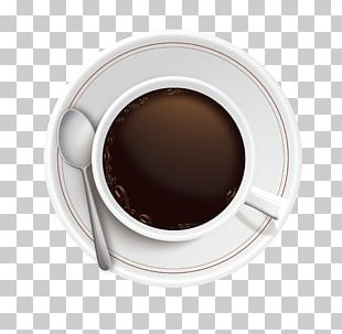 Coffee Cup Espresso Coffee Bean PNG