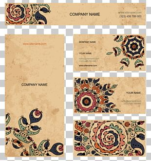 Business Card Visiting Card Infographic Envelope PNG