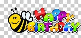Happy Birthday To You Cartoon Wish PNG
