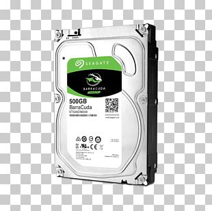 Hard Drives Hybrid Drive Seagate Barracuda Serial ATA Solid-state Drive PNG