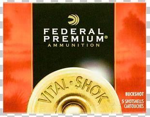 .30-06 Springfield Federal Premium Ammunition Hydra-Shok Shotgun Shell PNG