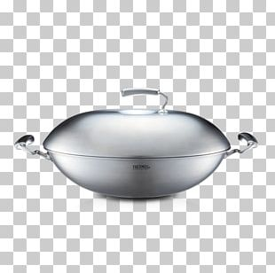 Cookware Wok Kitchen Stainless Steel PNG