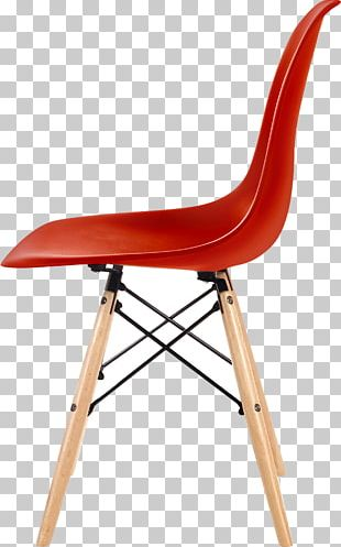 Eames Lounge Chair Dining Room Stool Plastic PNG